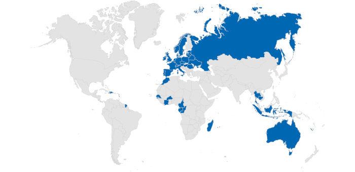 Eine internationale Ausrichtung